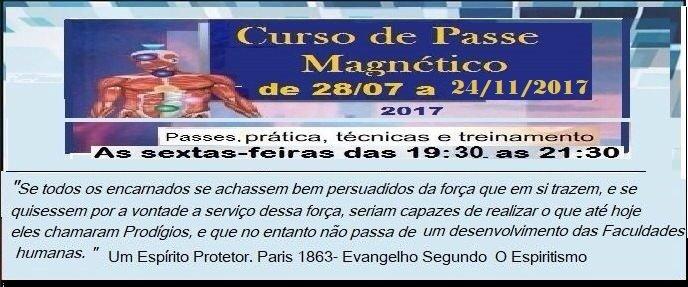 Curso de Passe Magnético 2017
